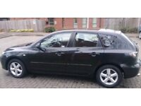 *STUNNING** BLACK MAZDA 3 TS+(07 PLATE) **5 DRS HATCHBACK++ ++EXCELLENT CONDITION