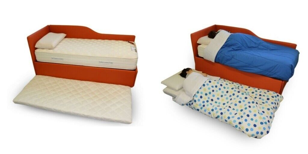 X2 Single Mattress Topper Kids Roll Up Bed Unused