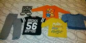 Bundle of 1-1.5 year boys clothes, used but in good condition