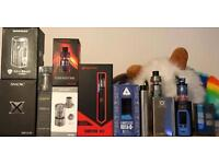 E cigarettes, mods, mechanical and electrical mods, tanks, rdta, rda, rta, accessories
