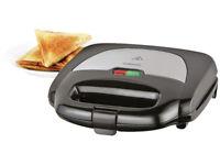 Cookworks 2 Slice Sandwich Toaster - Black LIKE NEW !!!