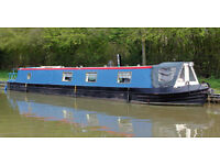Beautiful 57' narrow boat
