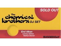2 x chemical brothers tickets for sold out gig in motion on 1st dec