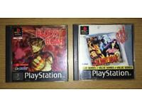 Bloody Roar 1 & 2 PS1 Games Bundle