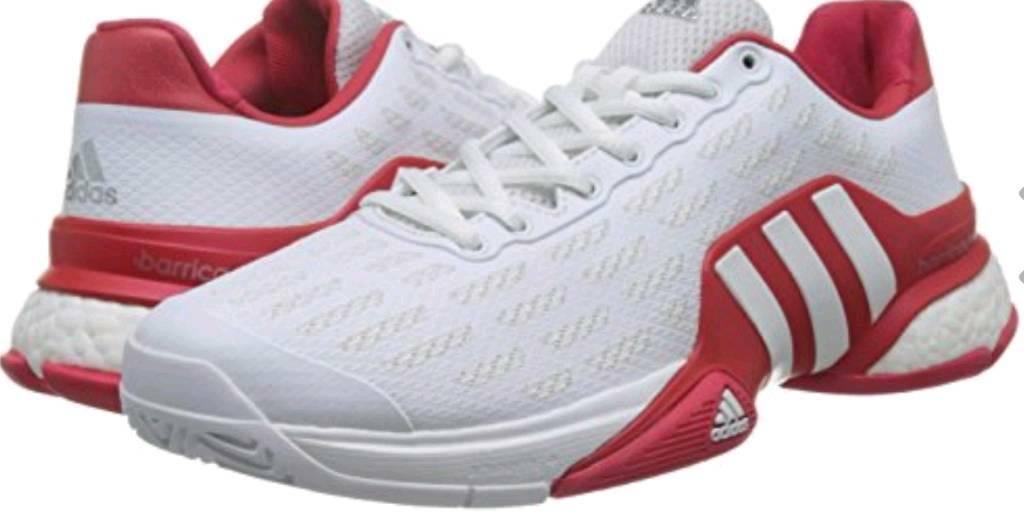 721f22bec ADIDAS Barricade Boost (2016) Mens Tennis Shoes.