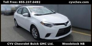 2015 Toyota Corolla LE Auto - Rear Camera & Bluetooth
