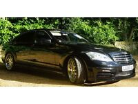 Mercedes-Benz 2006 5.5 S500LWB, 2013 Facelift S63 AMG WALD Body Kit