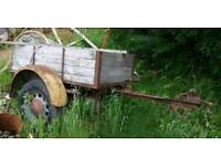 Ex military, Jeep, Land Rover, classic, hot rod Trailer