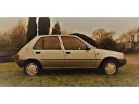 Peugeot 205 12 month MOT classic retro pug