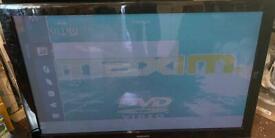 50 inch tv spares or repair as screen dim (see pics)