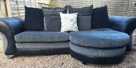 DFS chaise sofa, middle small cushion not included.