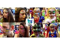 Fab Faces Face Painting - Professional Face Painter - perfect for Halloween