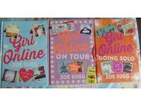 Zoe Sugg Books - Girl Online/Girl Online On Tour/Girl Online Going Solo * New *