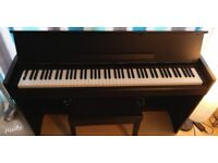 Black Yamaha Arius YDP-S51 sell with piano stool. Excellent condition and barely used ! Nice Price!