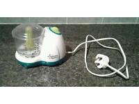 Tommee Tippee Electric Baby Food Processer Blender