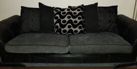 Large 3+2 seater couches