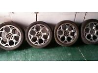 17inch alloy wheel