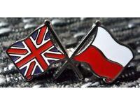 English lessons and Polish classes in Ipswich. Experienced teacher, interpreter, and translator.