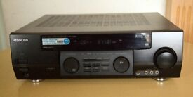Kenwood KRF-V7030D Audio Video Dolby Surround, FM, MW Audio Video Receiver & Speaker