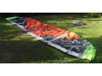 Complele Kite Surfing Package.......Kite, Board, Harness ,Lines, Suit, Glove, Boots, Head hood ,Bag