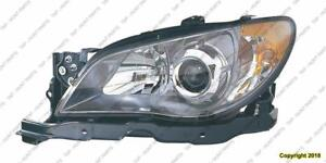 Head Light Driver Side High Quality Subaru Impreza 2006