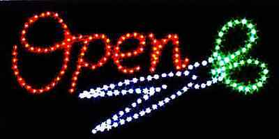 Ultra Bright Led Neon Light With Onoff Sw Hair Cut Salon Sign L24
