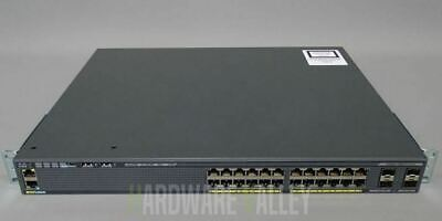 CISCO WS-C2960X-24TS-L Catalyst 2960-X 24 GigE, 4 x 1G SFP, LAN Base