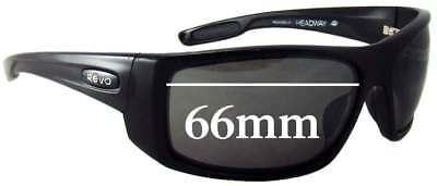 SFx Replacement Sunglass Lenses fits Revo RE4062 Headway - 66mm (Revo Headway Sunglasses)
