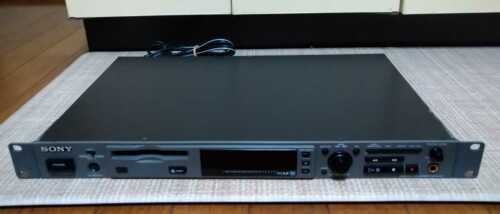 Sony MDS-E10 Minidisc Player/Recorder Rack Mount with Remote control