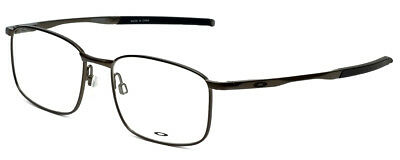 NEW AUTHENTIC OAKLEY TAPROOM OX3204-0153 Pewter Men's Eyeglasses 53mm 17 139