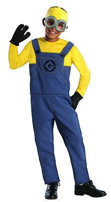 Minion Dave kostüm Set Kinderkostüm (Kind Minion Dave Kostüm)