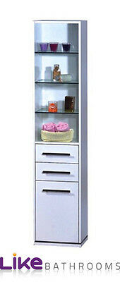 Bathroom furniture cupboard storage cabinet unit 1800mm