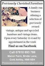 Antique vintage upcycled furniture Lots available