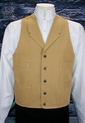 "Frontier Classics ""tall"" Wheat Old West Frontier Vest Vic..."