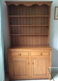 Welsh dresser - solid elm