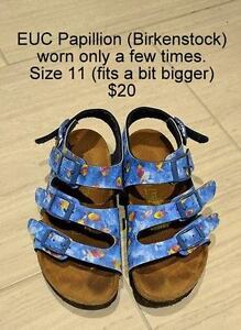 Little girl shoes, sandals and boots