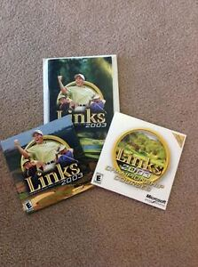 PC Games - Links 2003 + Championship Courses Expansion