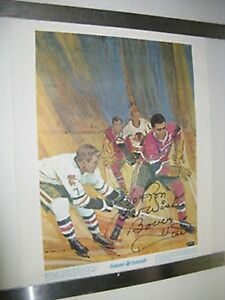 1960'S PRUDENTIAL GREAT MOMENTS IN CANADIAN SPORTS PRINT