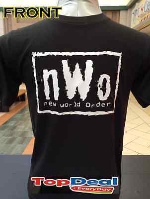NWO T-shirt New World Order Wrestling Black New World Order T-shirt
