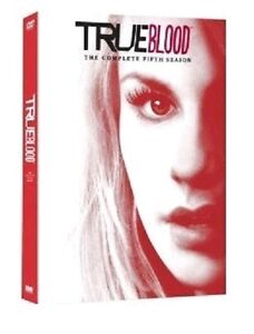 TRUE BLOOD COMPLETE SERIES 5 DVD Collection All Episodes Season Fifth 5th Sealed