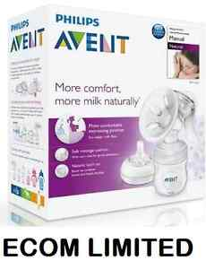 New-Philips-Avent-SCF330-20-Manual-Natural-Breast-Pump-BPA-FREE-sale-look