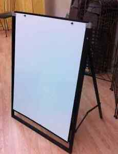 A frame sandwich board metal Cambridge Kitchener Area image 1