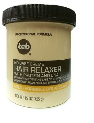 Base Creme Hair Relaxer (TCB Relaxer / Glättungscreme No Base Creme Hair Relaxer MILD 425g)
