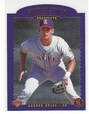 1996 Upper Deck Baseball Die Cut Future Stock Prospects Insert Singles