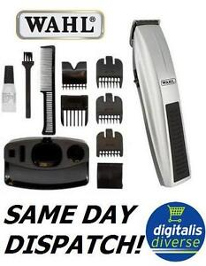 Wahl Performer Cordless Body Hair Battery Clipper Moustache Beard Trimmer Set