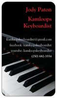 Piano/keyboard player available for your event!
