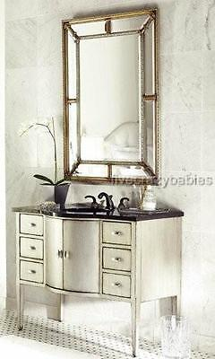 "Extra Large 49"" HORCHOW Vanity MIRROR FRAMED Wall Mirror Venetian Traditional"