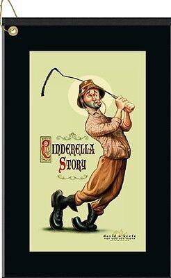 """Caddyshack Golf Towel """"Cinderella Story"""" by David O'keefe - AWESOME GOLF TOWEL"""