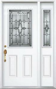 Entry SideLight Door Front  Installed