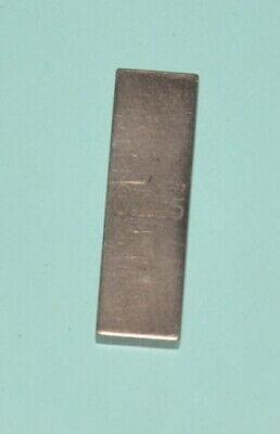 Machinists Rectangular Gage Block .145 C.e.j.